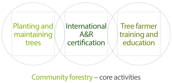 Community forestry core activities