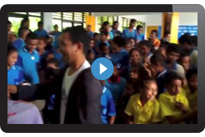 Education Week Baguia, Timor Leste July 2013